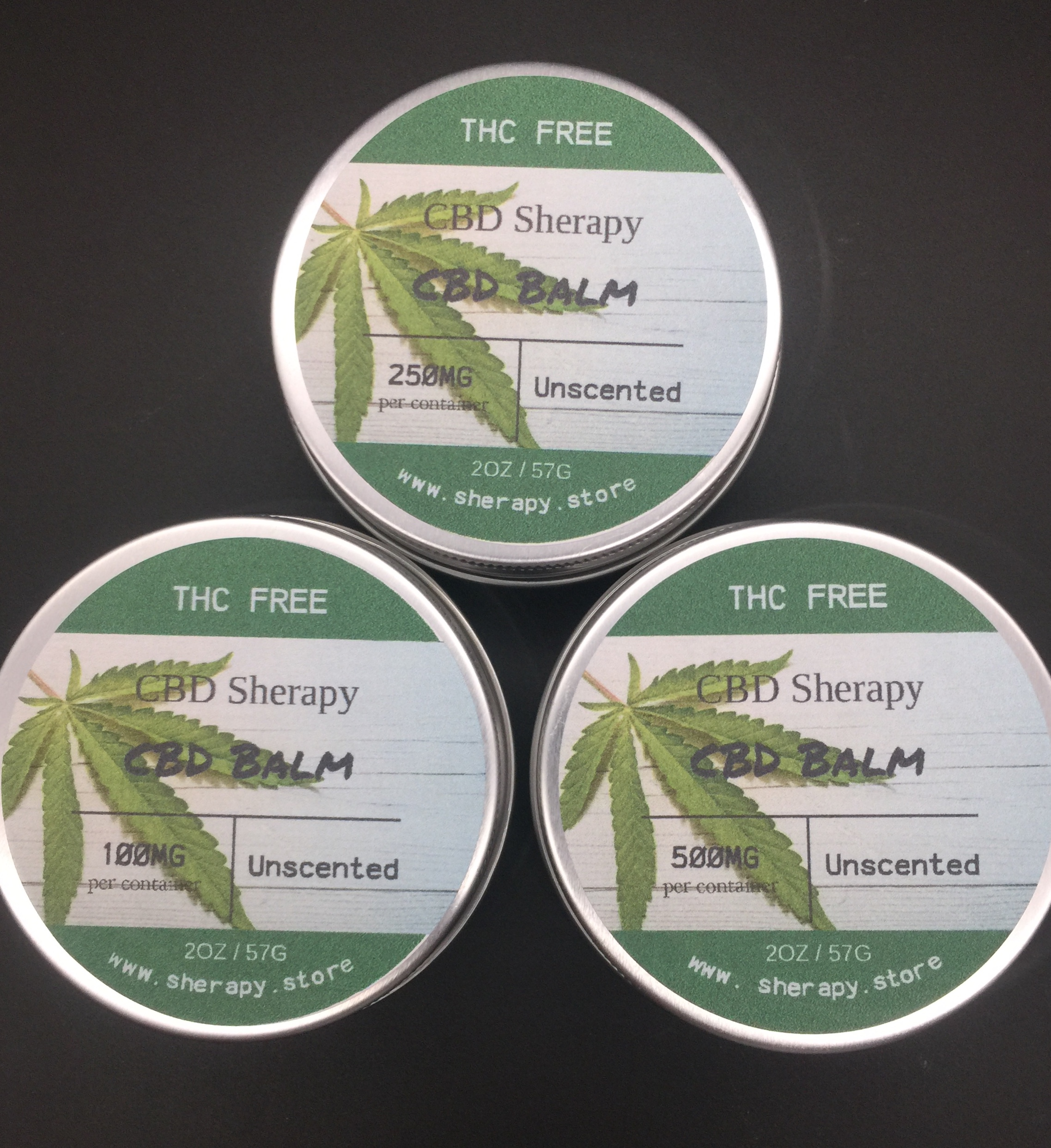 Balm with Hemp Extract