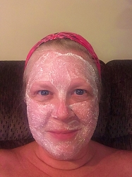 Beach Babe Face Mask