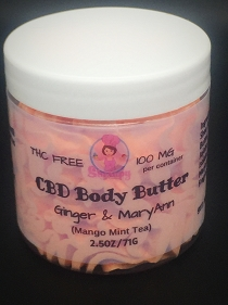 Body Butter with Hemp Extract Custom Batch