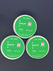 Unscented Balm with Hemp Extract