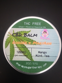 Balm with Hemp Extract and Essential Oils
